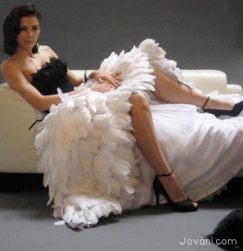 Feather Dressing Gown: Birds Of S Feather