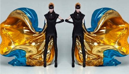 Model: Alla Kostromicheva